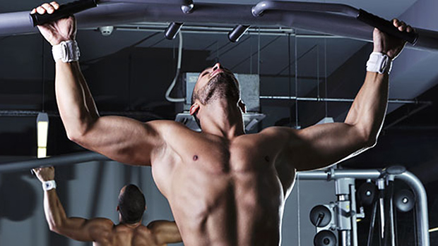 Pronated Grip Pull-Up