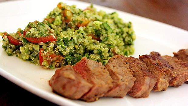 Quinoa Steak