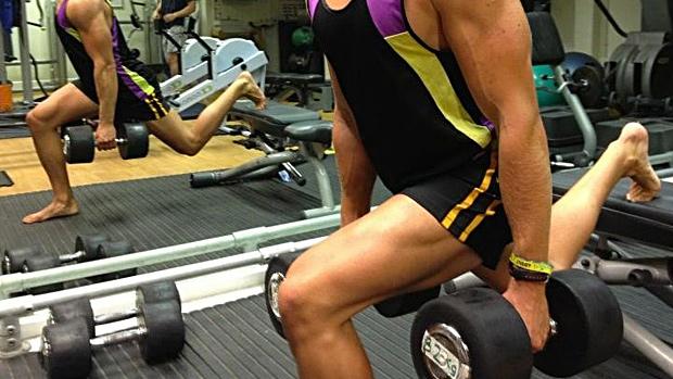 Rear Foot Elevated Split Squat