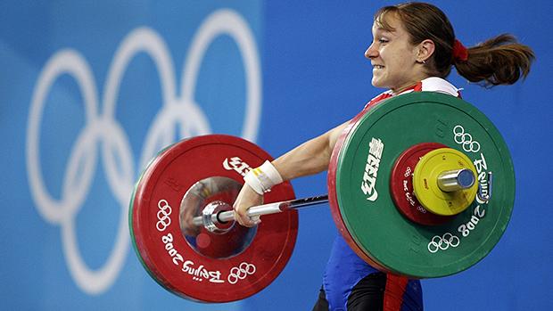 Russian Weightlifter