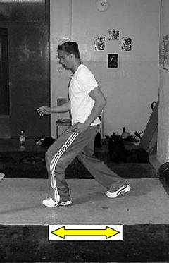 Shuffle running