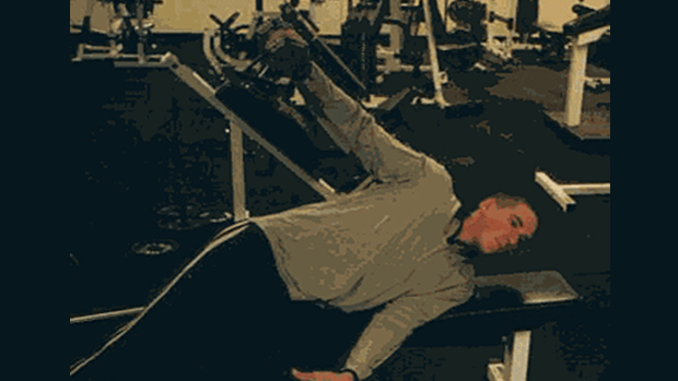 Side Lying Dumbbell Abduction