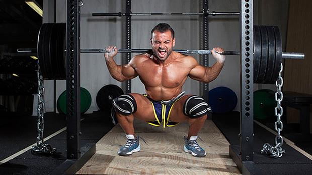 Squat Man