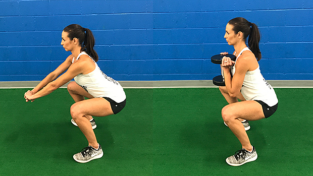 Squat 1 and 2