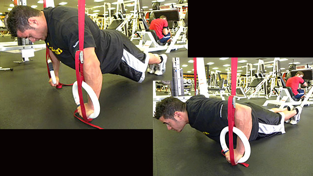Suspended Pushup