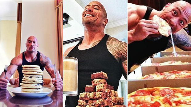 The Rock Cheat Meal