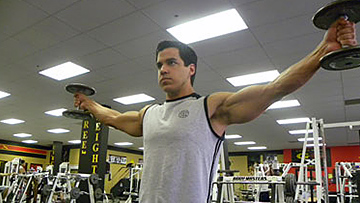 Thumbs Up Lateral Raise