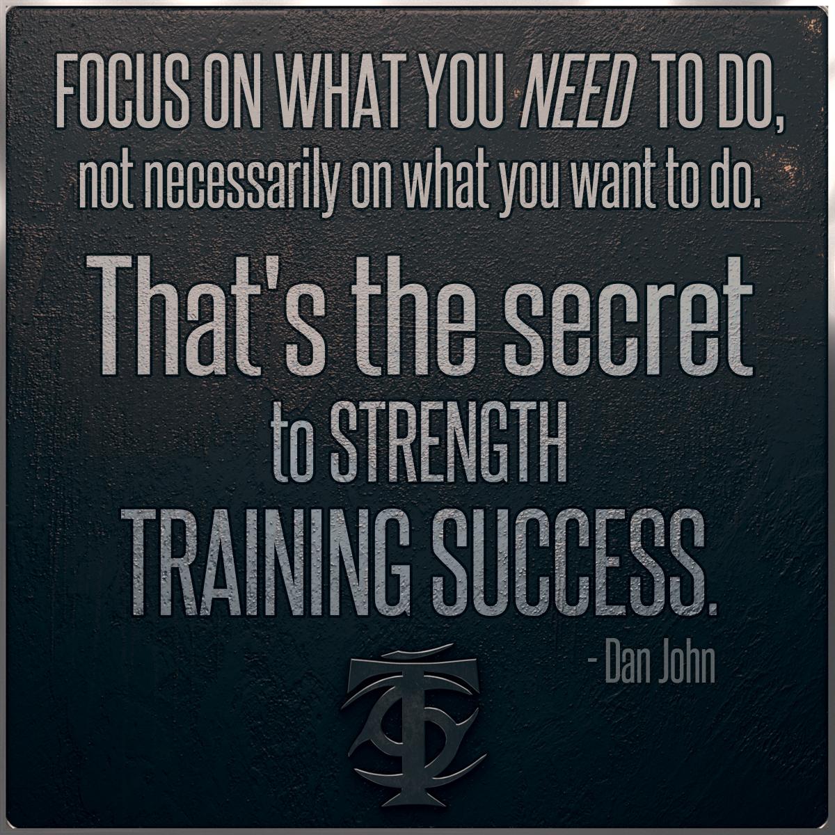 Training Success