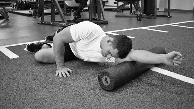 Triceps Foam Roller