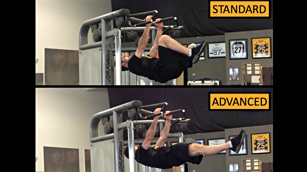Tuck Front Lever Iso Hold