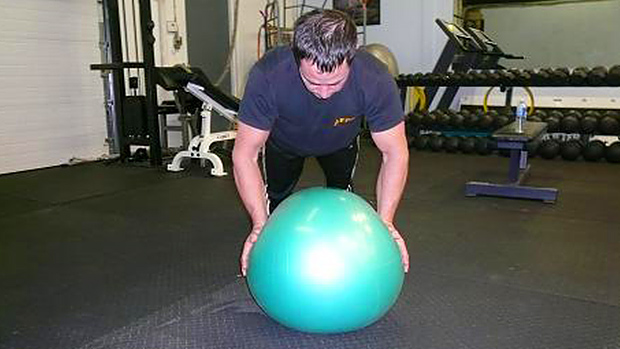 ball squeeze push-up