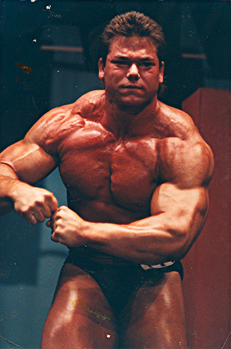 Dave Tate at his first bodybuilding competition