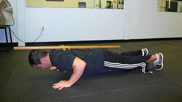 dowel push-up 1