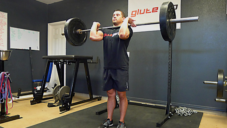 Front Loaded Forward Lunge 1