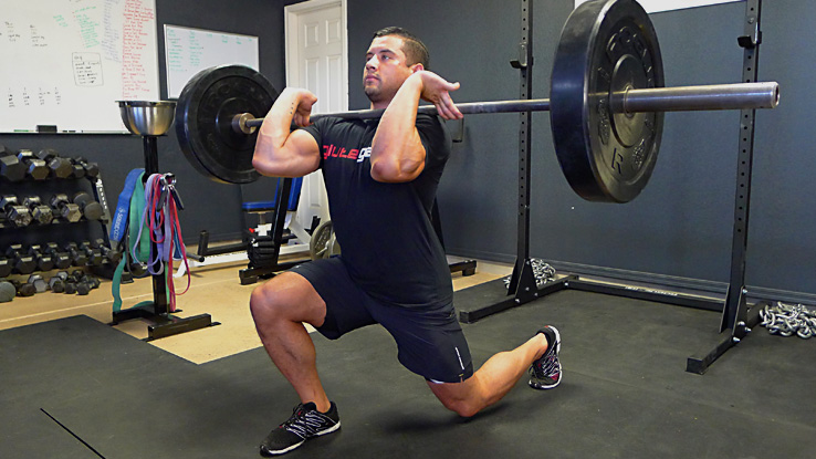 Front Loaded Forward Lunge 2