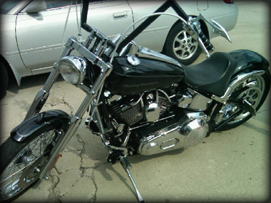 Jim's ride