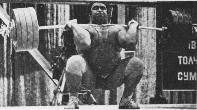 Heavy Front Squat