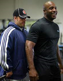 Barry Bonds and his trainer, Greg Anderson.