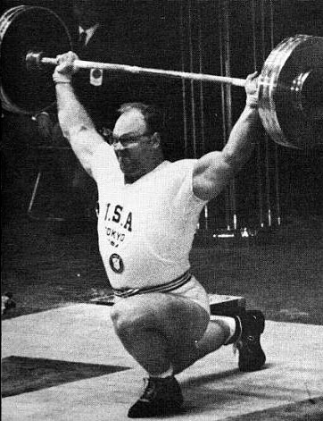 1960s Olympic Lifter