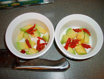 Stuff in bowls
