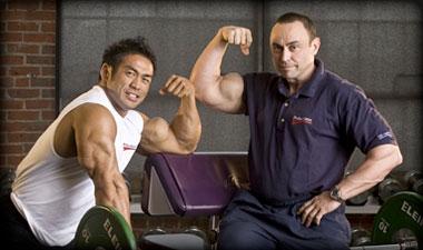 IFBB pro Hidetada Yamagishi and the Master Blaster