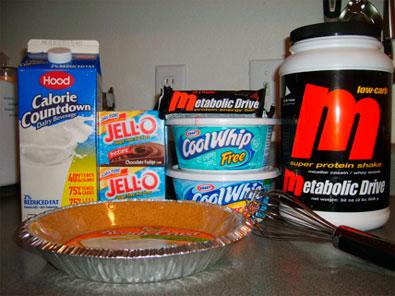 Metabolic Pie ingredients