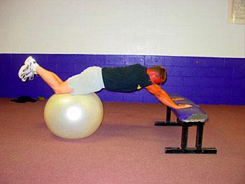 Knee-Up on Ball