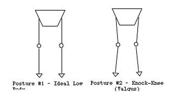 lower body postures