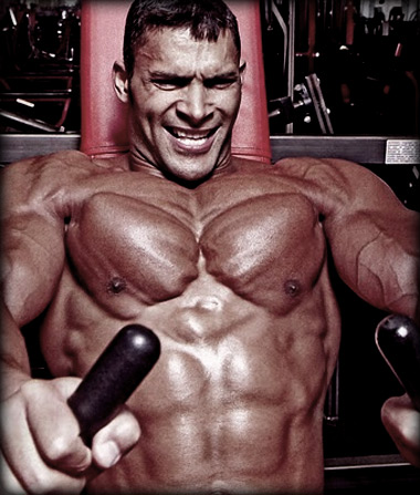 A trainer can help with making the mind-muscle connection by providing cues mid-set.