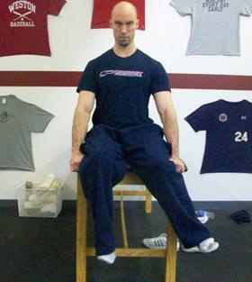 Seated Hip IR Test