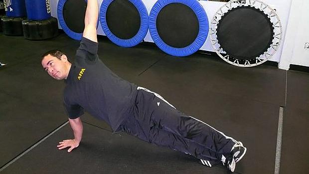 side push-up