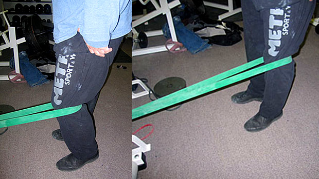 terminal knee extensions