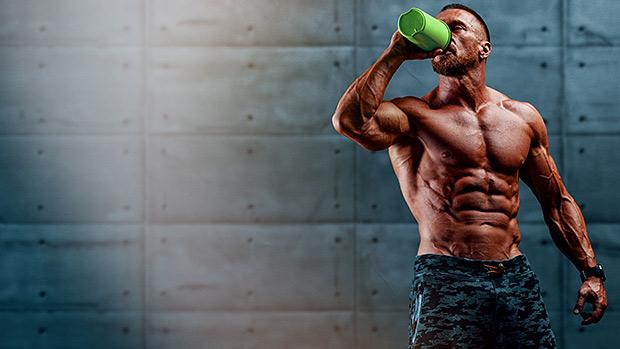 Bodybuilder BCAA