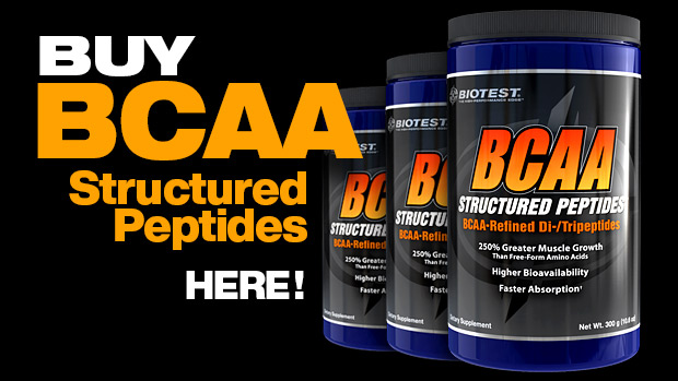 Buy BCAA Structured Peptides Here