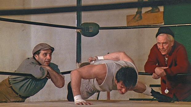 Rocky Push-Up
