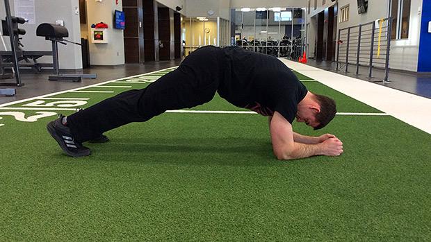 Plank - High Hips