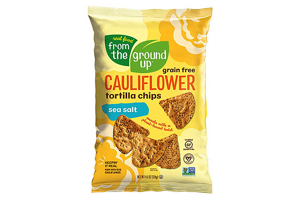 Cauliflower Tortilla Chips, Real Food From the Ground Up