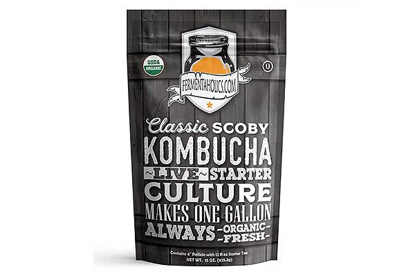 Fermentaholics Kombucha Live Starter Culture