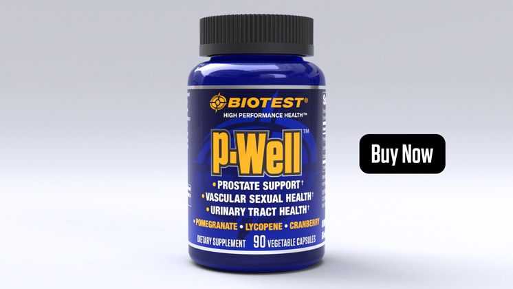 P-Well™ Prostate and Sexual Vascular Support