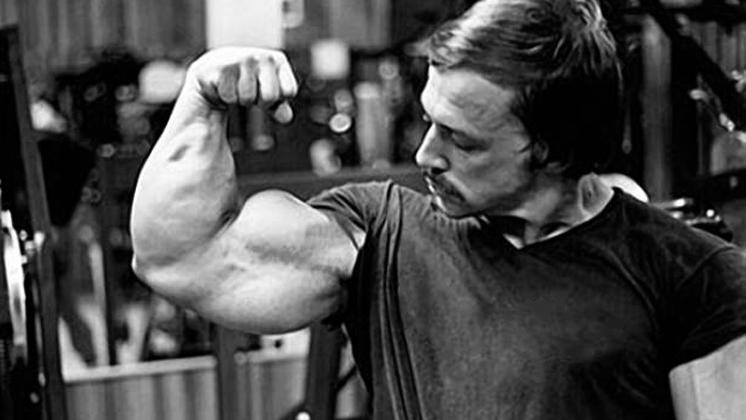 Casey Viator's Flexed Arm