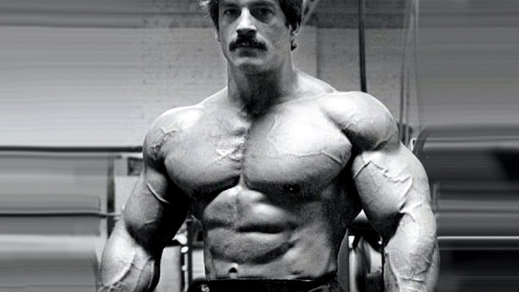 Mike Mentzer In the Gym