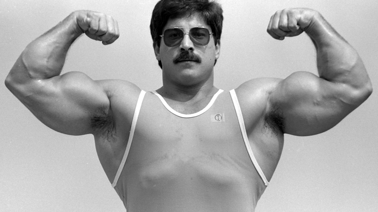 Ray Mentzer Double-Biceps Pose, 1983