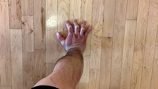 Cambered Hand Position