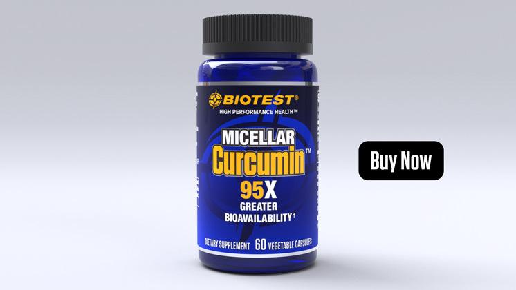 Micellar Curcumin™ solid lipid curcumin particles