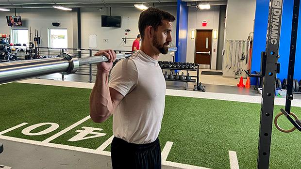 Mobile T-Spine Back Squat