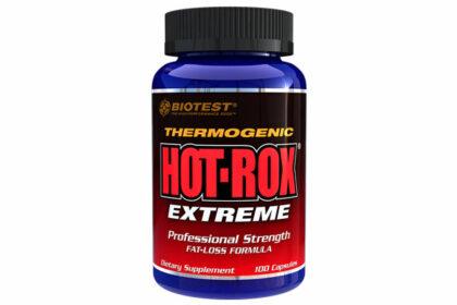 Hot-Rox Extreme Fat Loss Formula - 100 Capsules