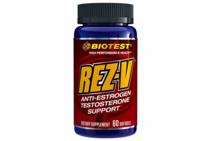 Rez-V Anti-Estrogen Testosterone support - 60 Softgels
